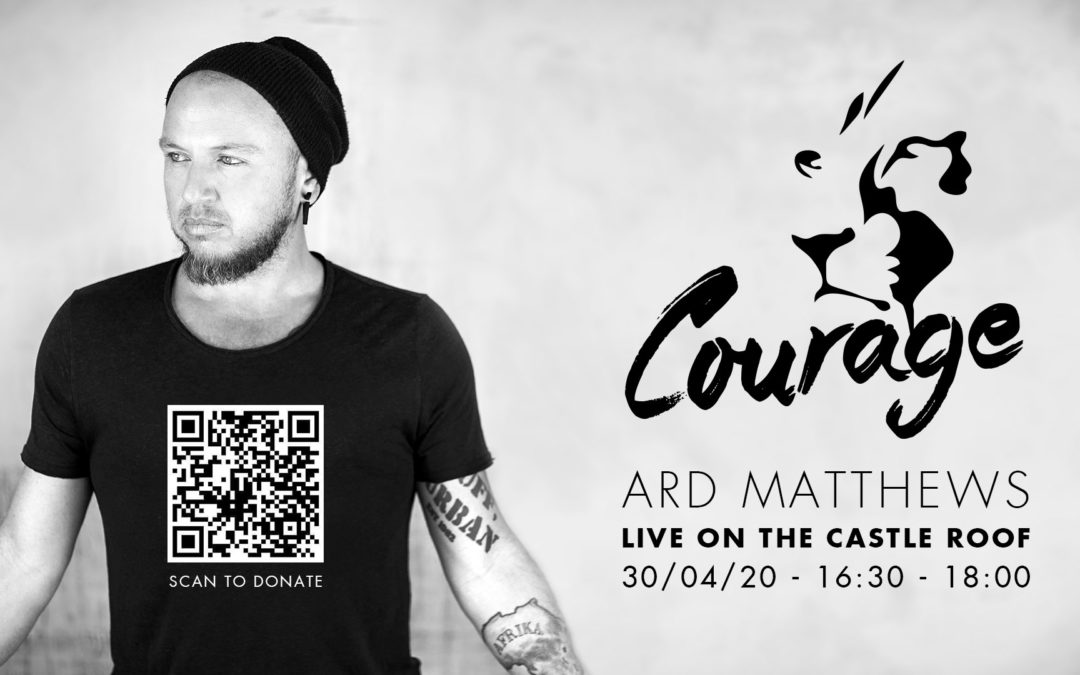 Ard Matthews Live on the Castle Roof Top for Courage