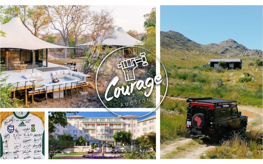 THE DUCATI RAFFLE CLOSES AS THE COURAGE WANDERLUST AUCTION OPENS