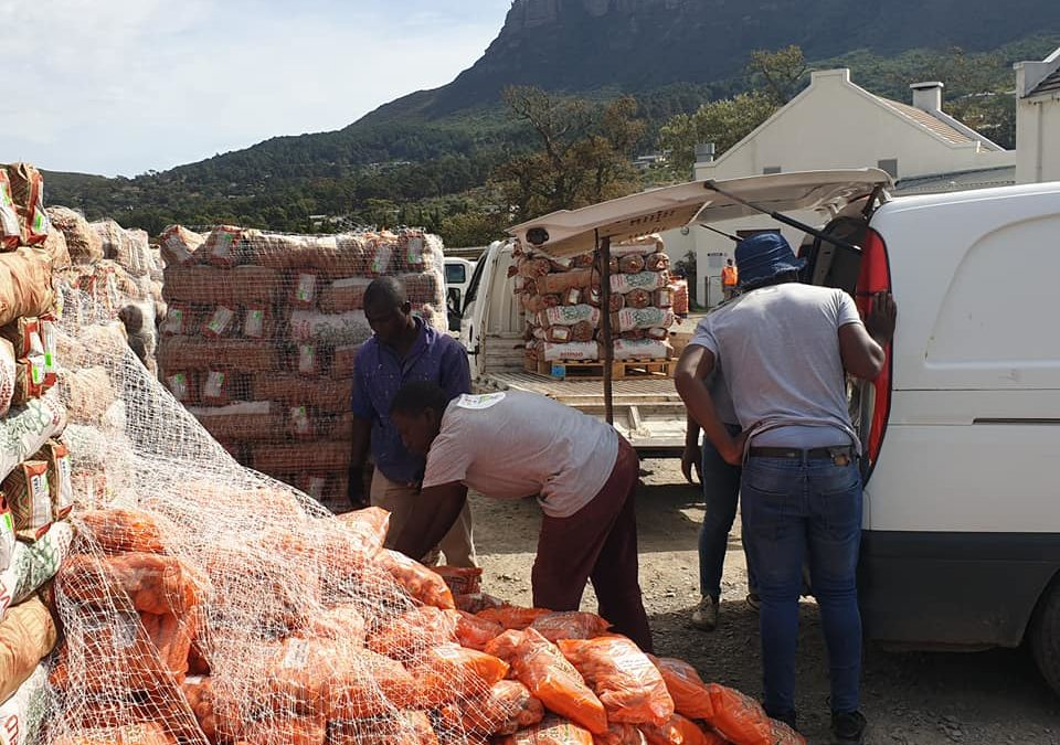Courage Initiative Hout Bay Food Love is Flowing
